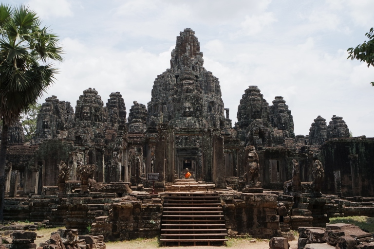 Bayon temple, which has faces everywhere!