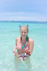Starfish at Alona Beach